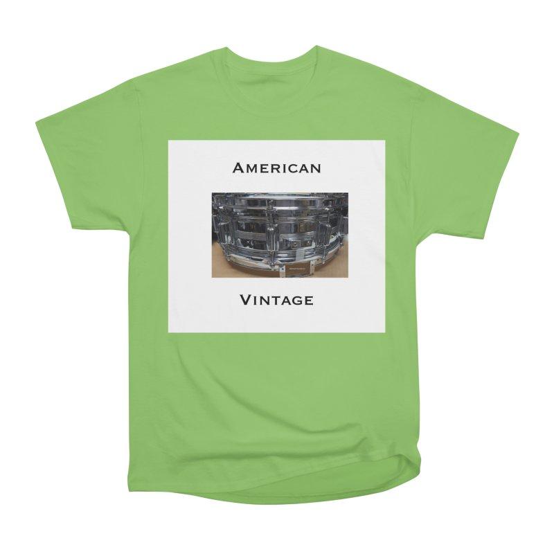 American Vintage Women's Heavyweight Unisex T-Shirt by EdHartmanMusic Swag Shop!