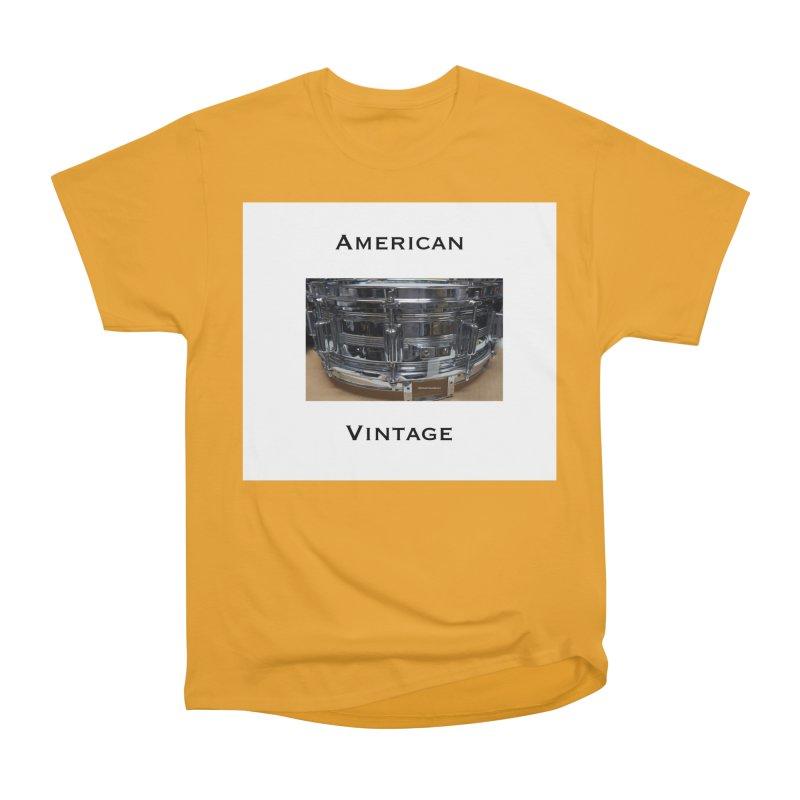 American Vintage Men's Heavyweight T-Shirt by EdHartmanMusic Swag Shop!