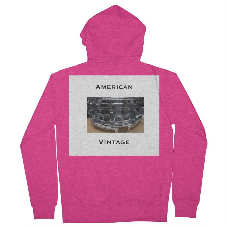 American Vintage Women's French Terry Zip-Up Hoody by EdHartmanMusic Swag Shop!