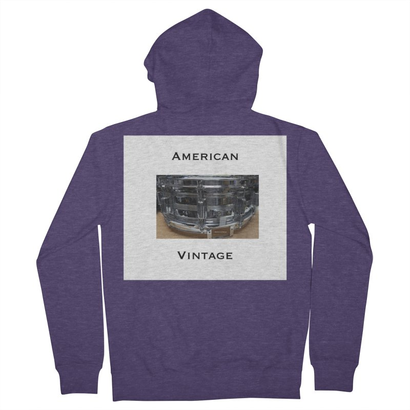 American Vintage Men's French Terry Zip-Up Hoody by EdHartmanMusic Swag Shop!
