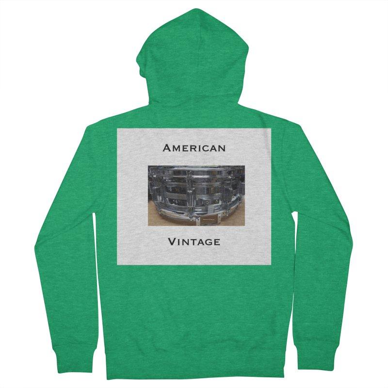 American Vintage Men's Zip-Up Hoody by EdHartmanMusic Swag Shop!