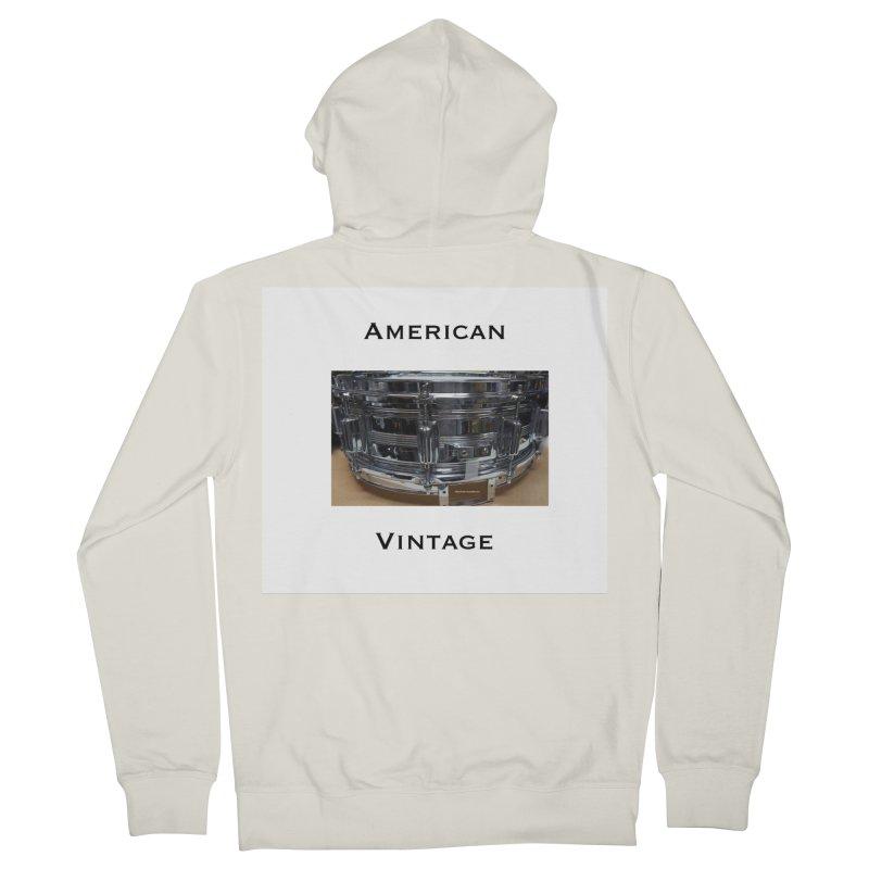 American Vintage Men's French Terry Zip-Up Hoody by EdHartmanMusic Swag Shop!