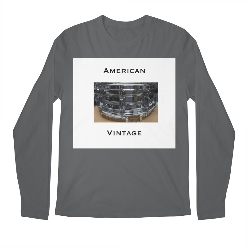 American Vintage Men's Longsleeve T-Shirt by EdHartmanMusic Swag Shop!