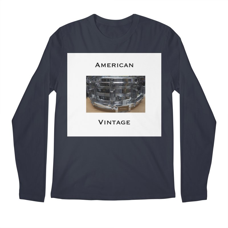 American Vintage Men's Regular Longsleeve T-Shirt by EdHartmanMusic Swag Shop!