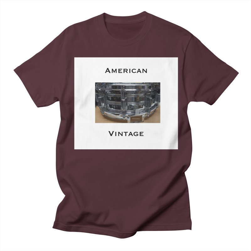 American Vintage Men's Regular T-Shirt by EdHartmanMusic Swag Shop!