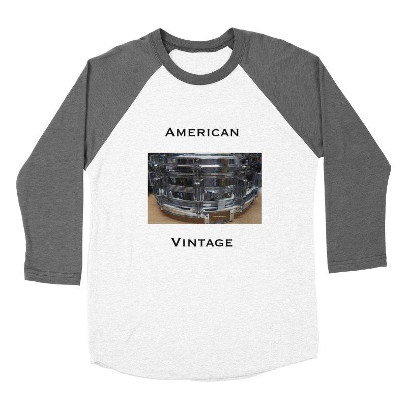 American Vintage Women's Baseball Triblend Longsleeve T-Shirt by EdHartmanMusic Swag Shop!