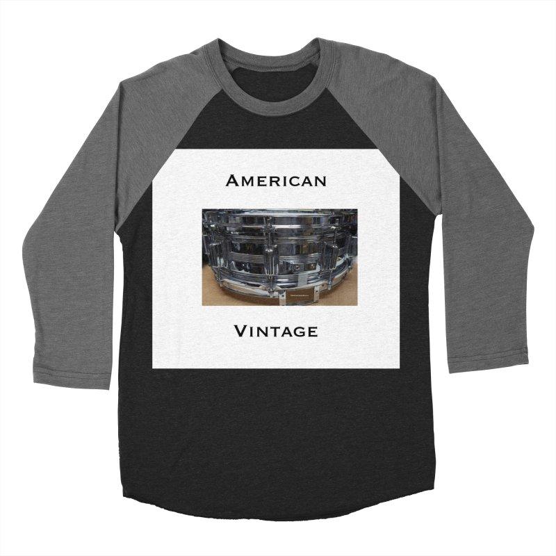 American Vintage Men's Baseball Triblend T-Shirt by EdHartmanMusic Swag Shop!