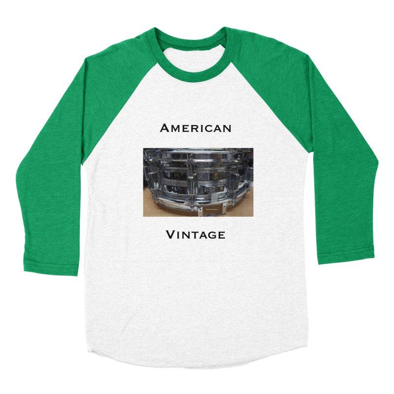 American Vintage Men's Baseball Triblend Longsleeve T-Shirt by EdHartmanMusic Swag Shop!