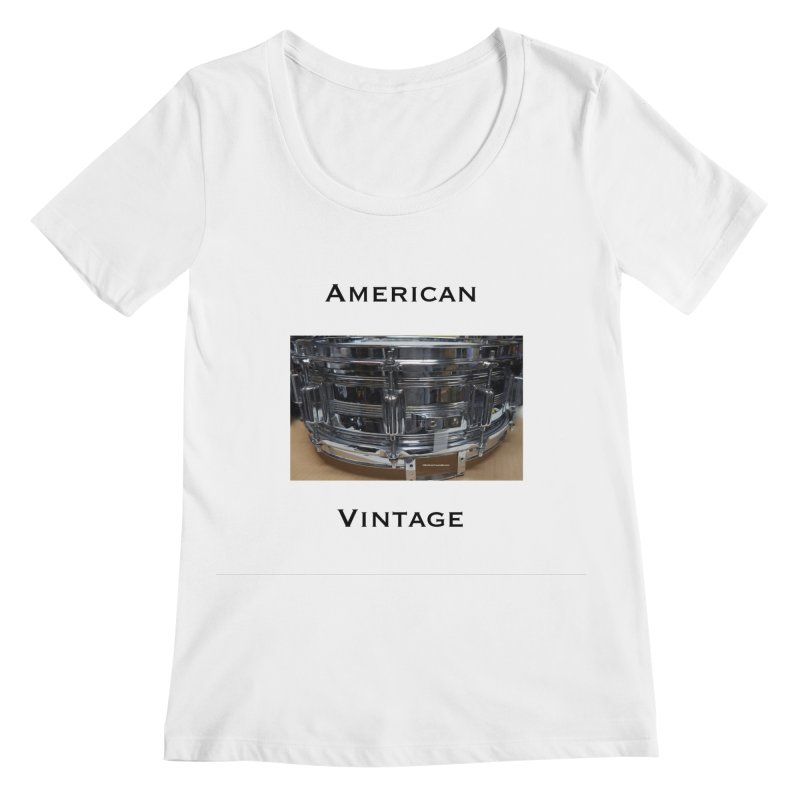 American Vintage Women's Regular Scoop Neck by EdHartmanMusic Swag Shop!