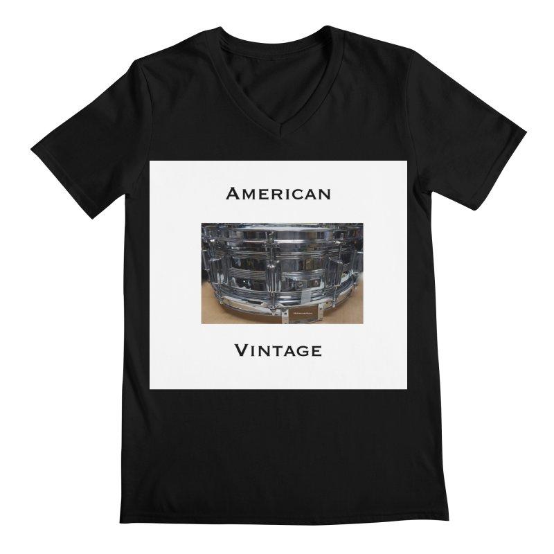 American Vintage Men's Regular V-Neck by EdHartmanMusic Swag Shop!