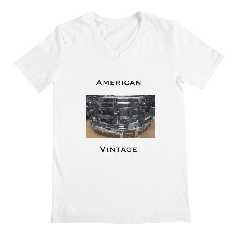 American Vintage Men's V-Neck by EdHartmanMusic Swag Shop!