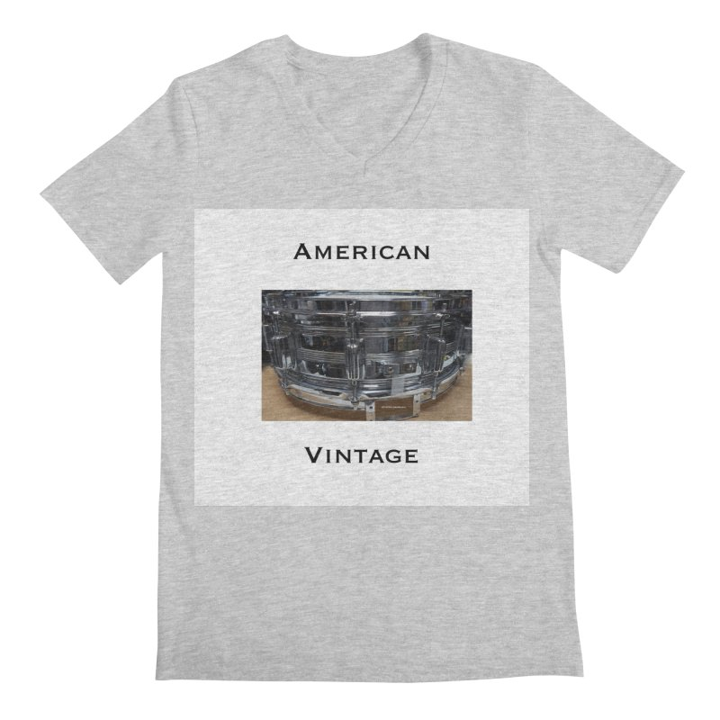 American Vintage Men's Regular V-Neck by EdHartmanMusic Swag Shop!