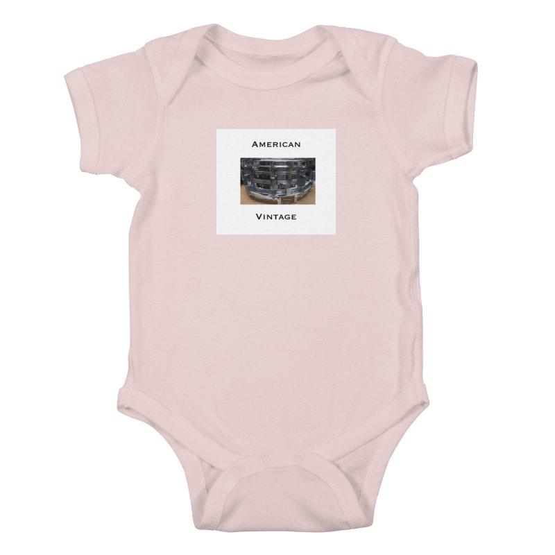 American Vintage Kids Baby Bodysuit by EdHartmanMusic Swag Shop!