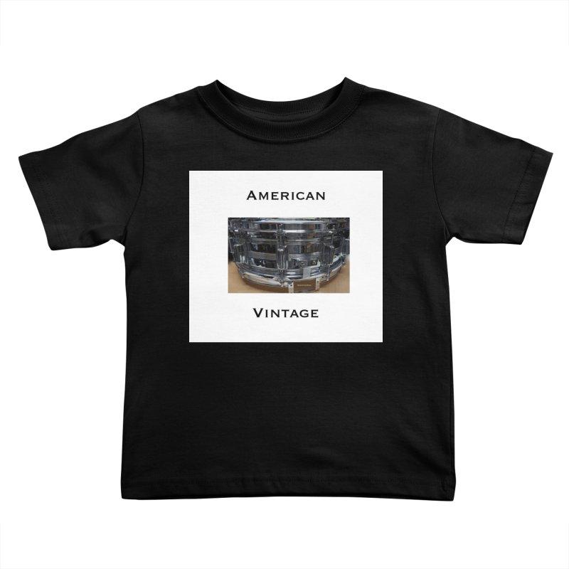 American Vintage Kids Toddler T-Shirt by EdHartmanMusic Swag Shop!