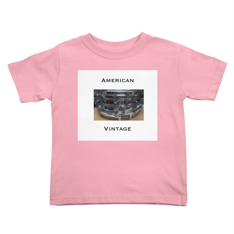 American Vintage Kids Toddler T-Shirt by EdHartmanMusic Swag Shop!
