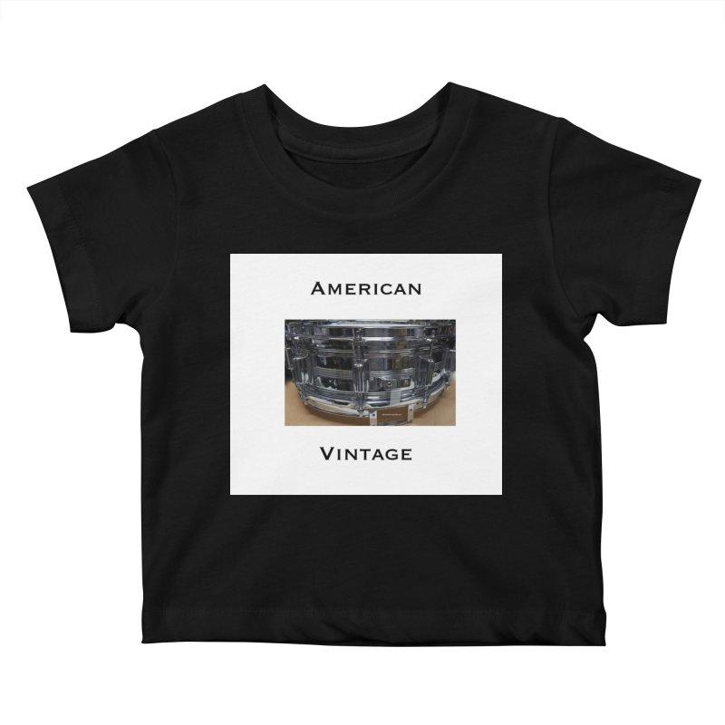 American Vintage Kids Baby T-Shirt by EdHartmanMusic Swag Shop!