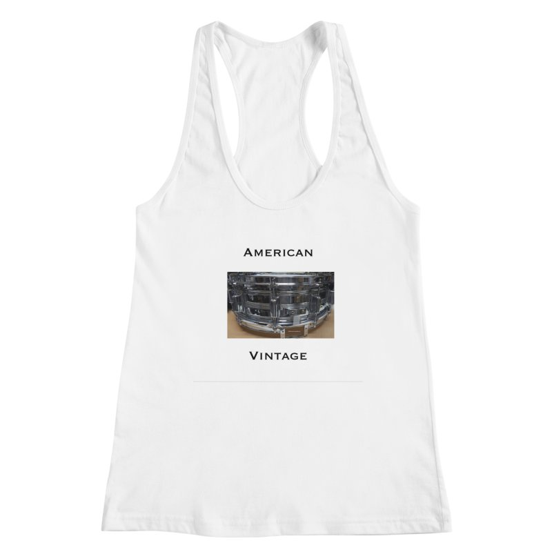 American Vintage Women's Racerback Tank by EdHartmanMusic Swag Shop!