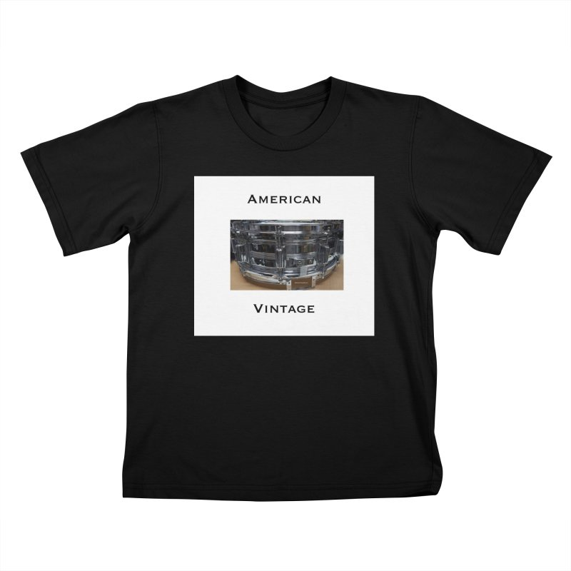 American Vintage Kids T-Shirt by EdHartmanMusic Swag Shop!