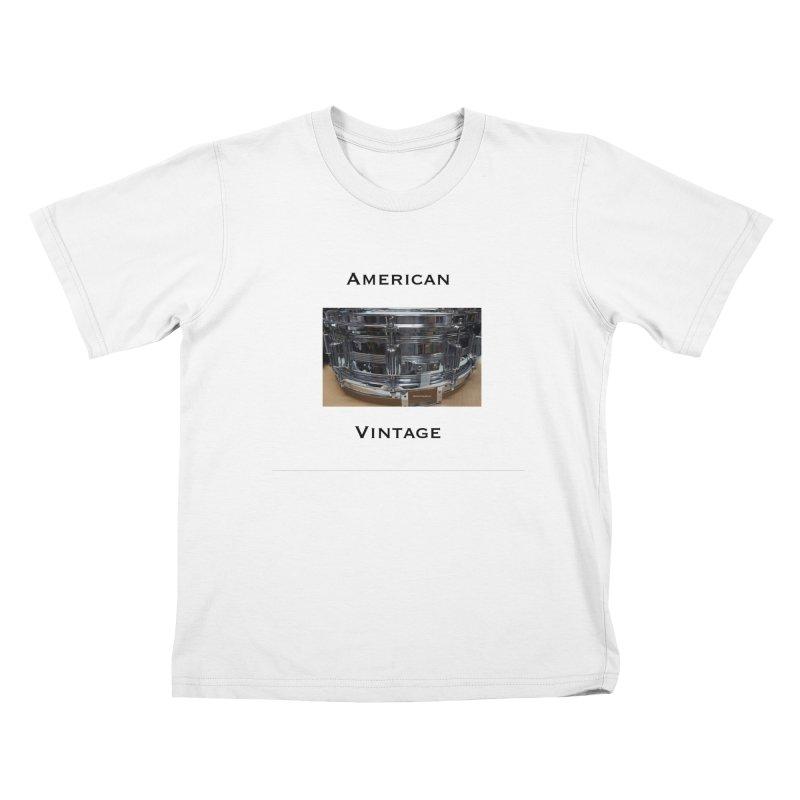 American Vintage Kids T-Shirt by EdHartmanMusic Swag Shop!