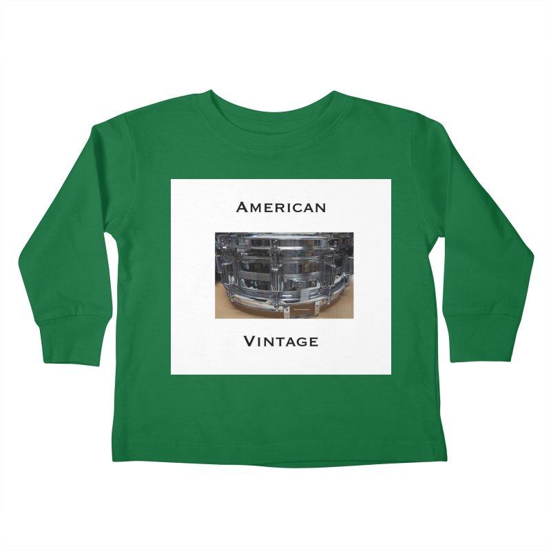 American Vintage Kids Toddler Longsleeve T-Shirt by EdHartmanMusic Swag Shop!