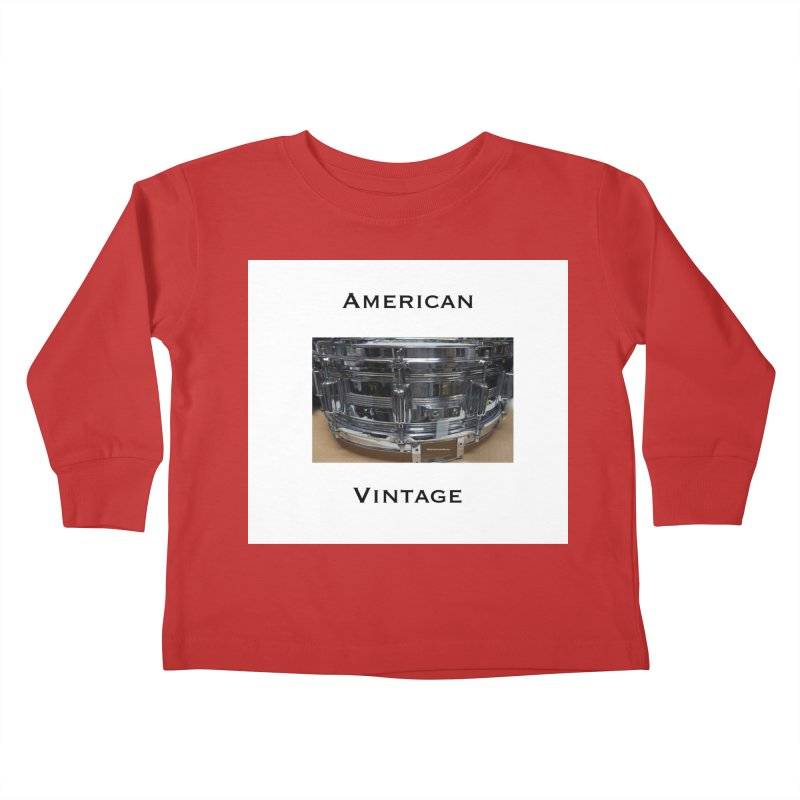 American Vintage Kids Toddler Longsleeve T-Shirt by EdHartmanMusic Swag Shop!