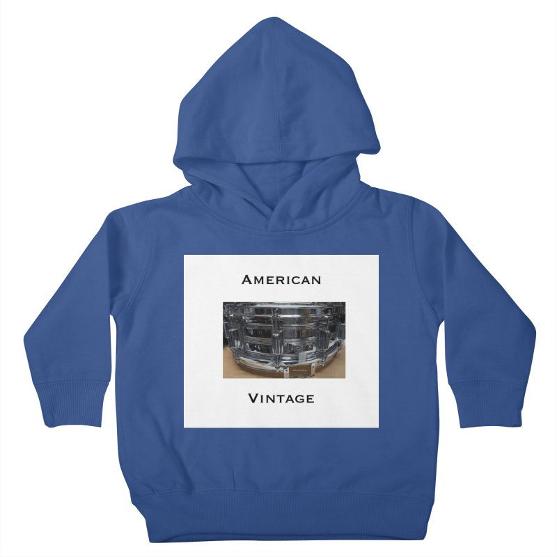 American Vintage Kids Toddler Pullover Hoody by EdHartmanMusic Swag Shop!