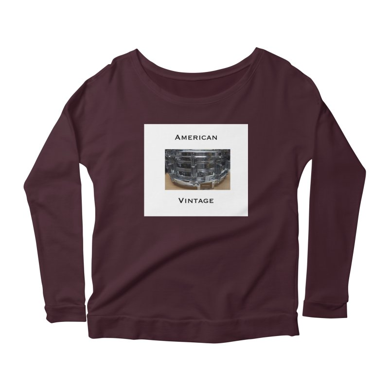 American Vintage Women's Longsleeve T-Shirt by EdHartmanMusic Swag Shop!