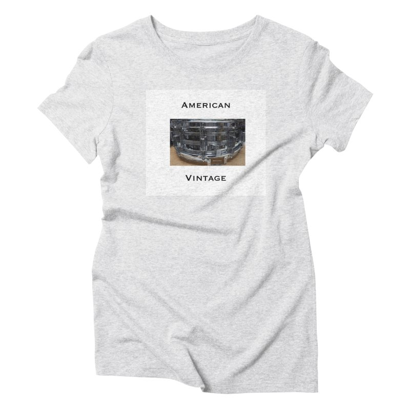 American Vintage Women's T-Shirt by EdHartmanMusic Swag Shop!