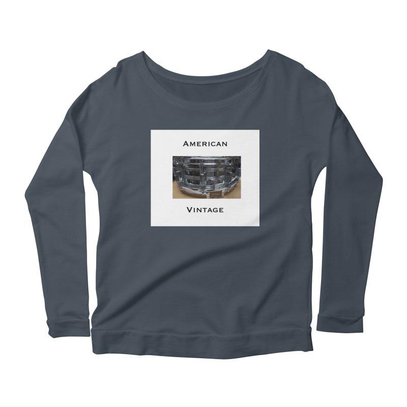 American Vintage Women's Scoop Neck Longsleeve T-Shirt by EdHartmanMusic Swag Shop!