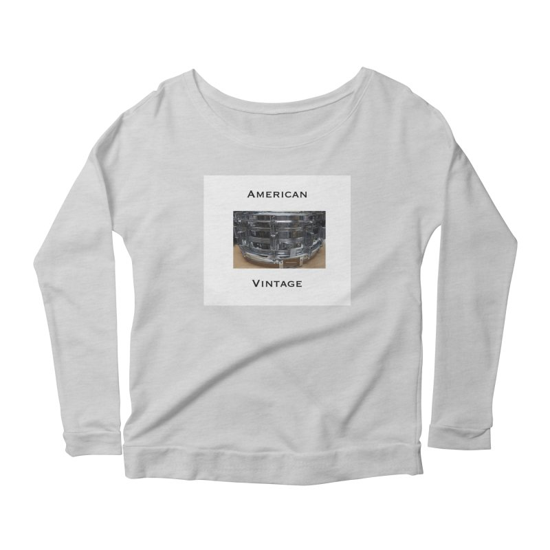 American Vintage Women's Scoop Neck Longsleeve T-Shirt by EdHartmanMusic Swag Shop!