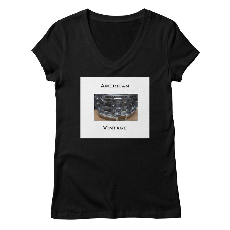 American Vintage Women's V-Neck by EdHartmanMusic Swag Shop!