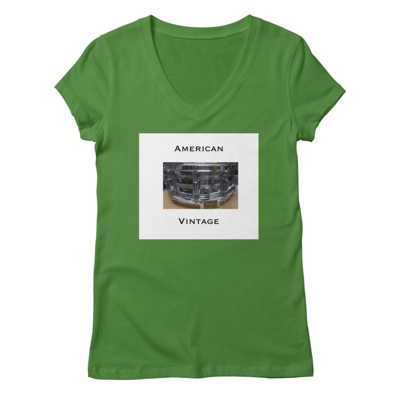 American Vintage Women's V-Neck by EdHartmanMusic Swag Shop!