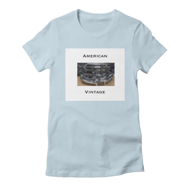 American Vintage Women's Fitted T-Shirt by EdHartmanMusic Swag Shop!