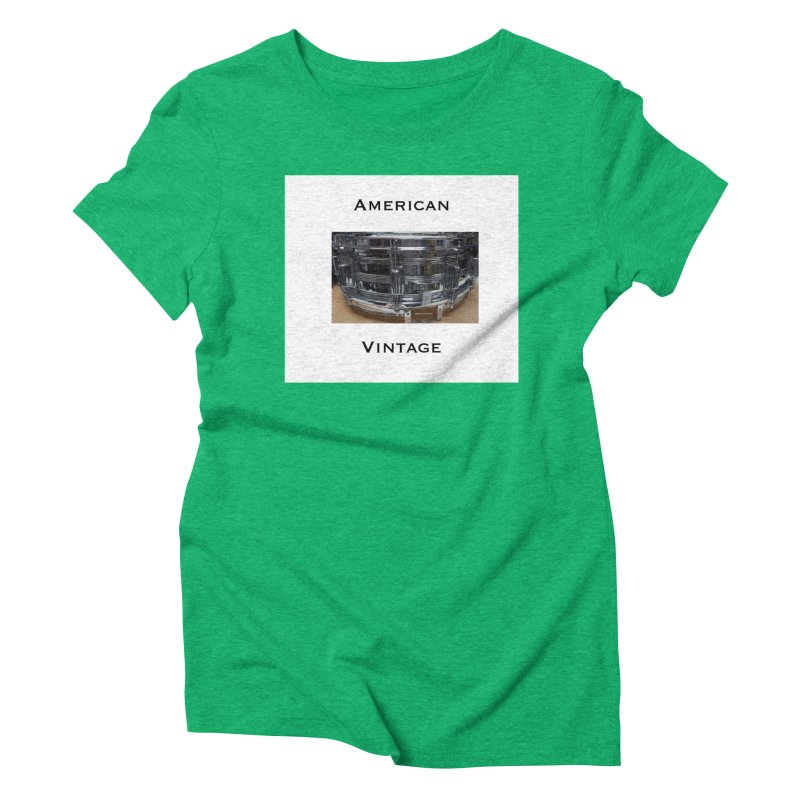 American Vintage Women's Triblend T-Shirt by EdHartmanMusic Swag Shop!