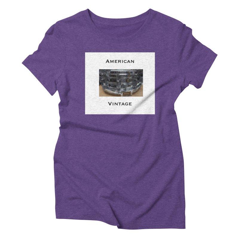 American Vintage Women's Triblend T-Shirt by EdHartmanMusic Swag Shop!