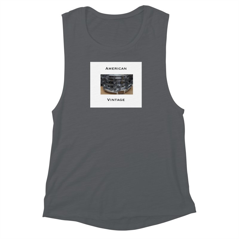 American Vintage Women's Muscle Tank by EdHartmanMusic Swag Shop!