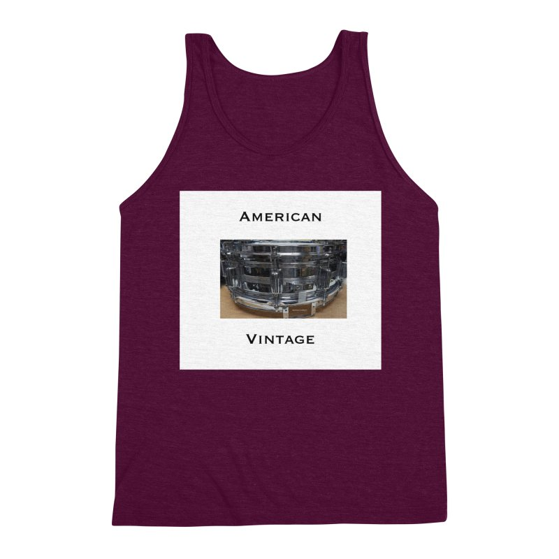 American Vintage Men's Triblend Tank by EdHartmanMusic Swag Shop!