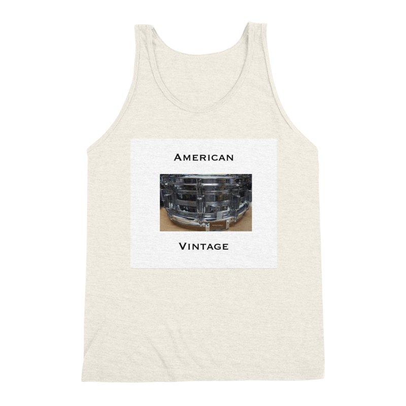 American Vintage Men's Triblend Tank by EdHartmanMusic Swag Shop!