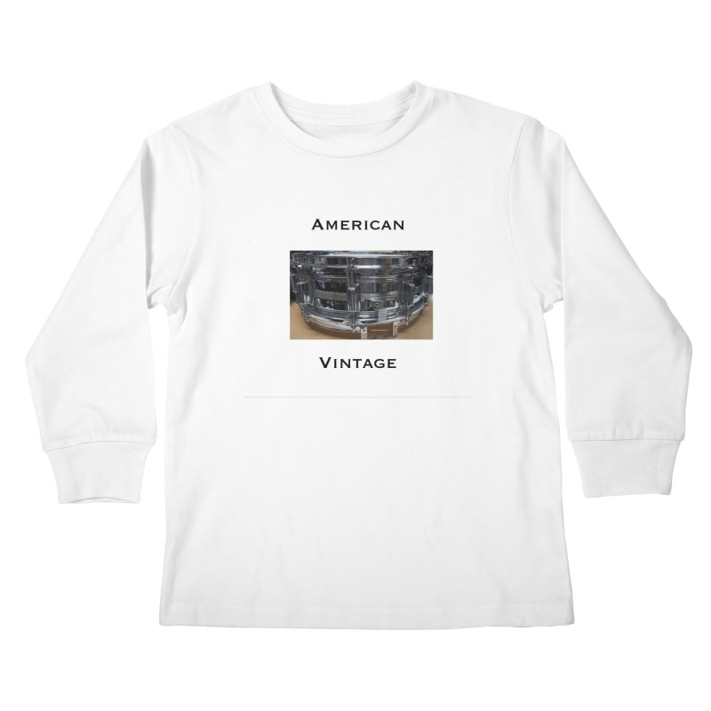 American Vintage Kids Longsleeve T-Shirt by EdHartmanMusic Swag Shop!