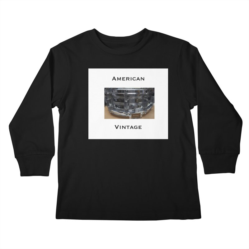 American Vintage Kids Longsleeve T-Shirt by EdHartmanMusic Swag Shop!