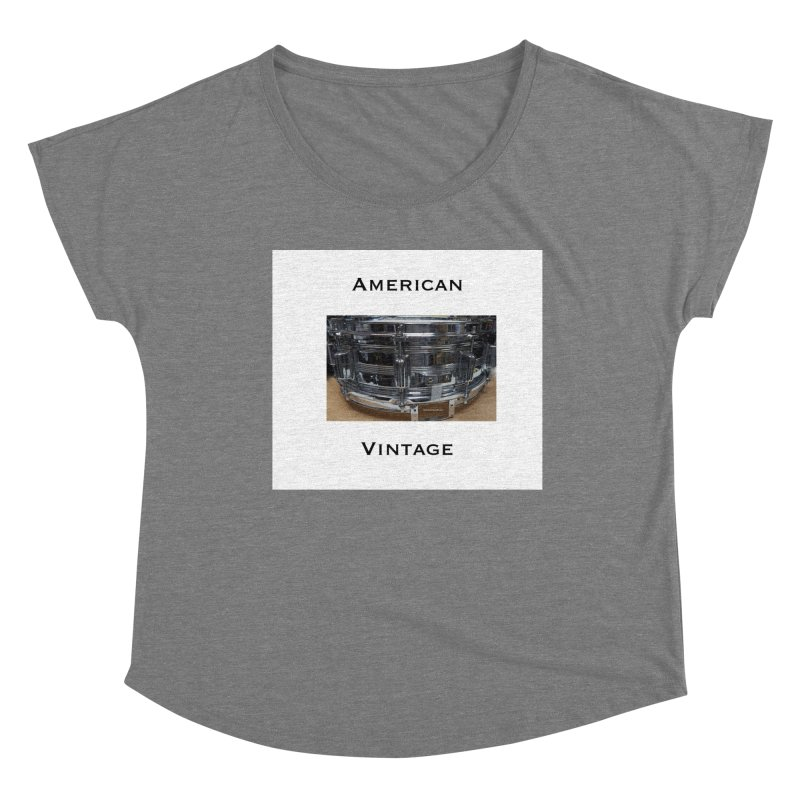 American Vintage Women's Scoop Neck by EdHartmanMusic Swag Shop!