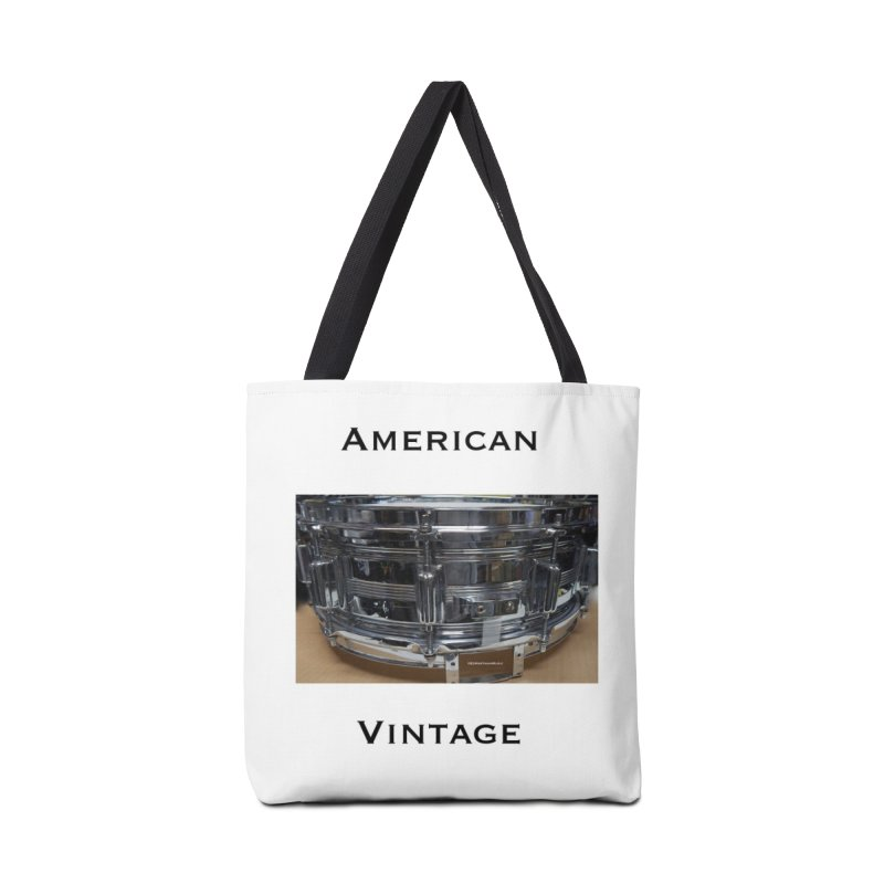 American Vintage Accessories Tote Bag Bag by EdHartmanMusic Swag Shop!