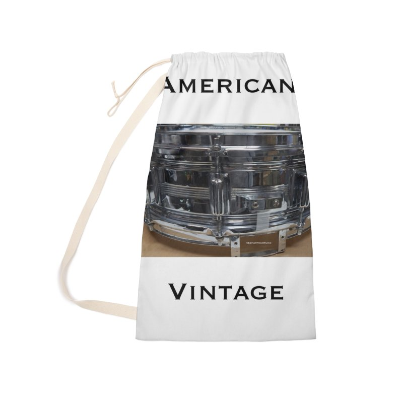 American Vintage Accessories Laundry Bag Bag by EdHartmanMusic Swag Shop!