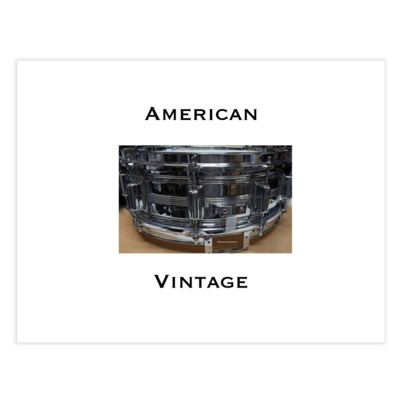 American Vintage Home Fine Art Print by EdHartmanMusic Swag Shop!