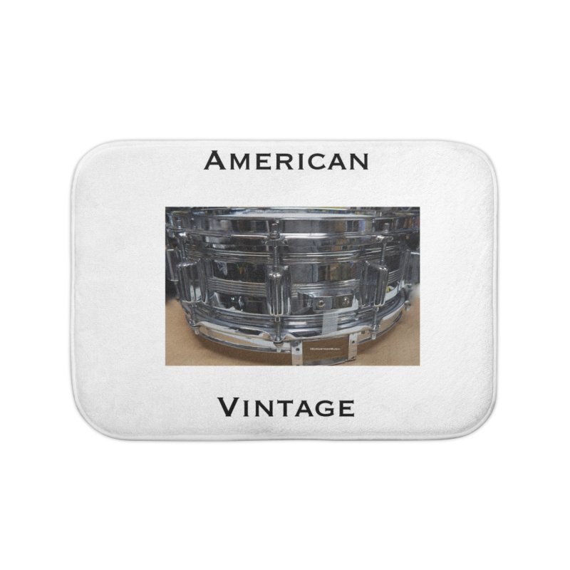 American Vintage Home Bath Mat by EdHartmanMusic Swag Shop!