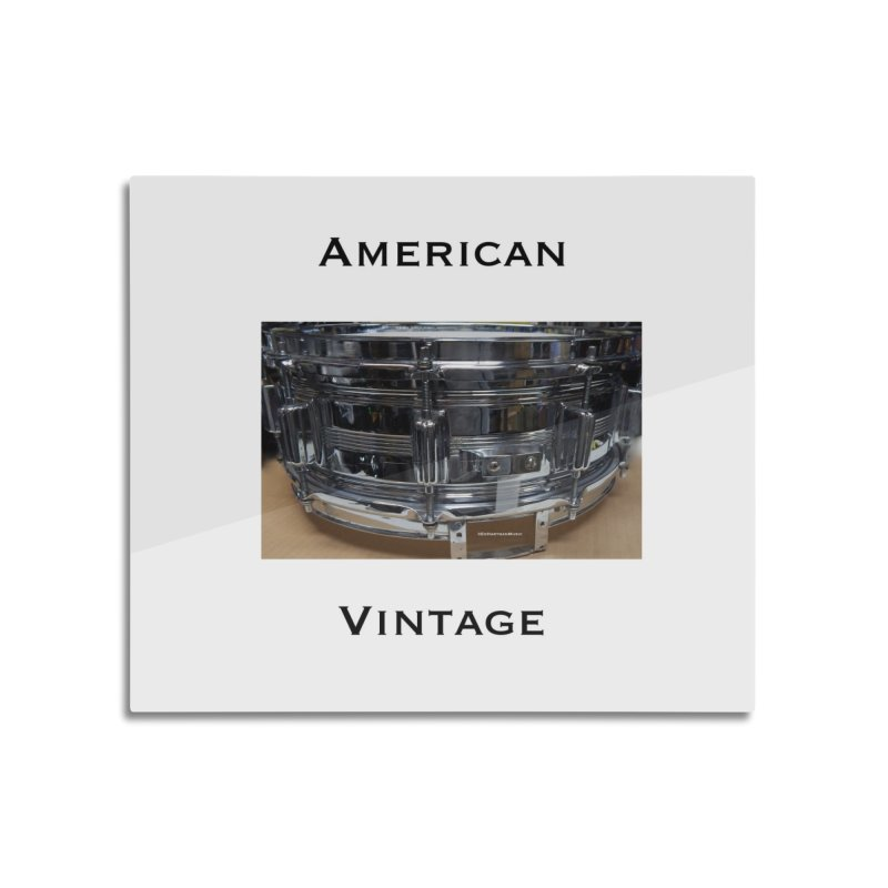 American Vintage Home Mounted Acrylic Print by EdHartmanMusic Swag Shop!