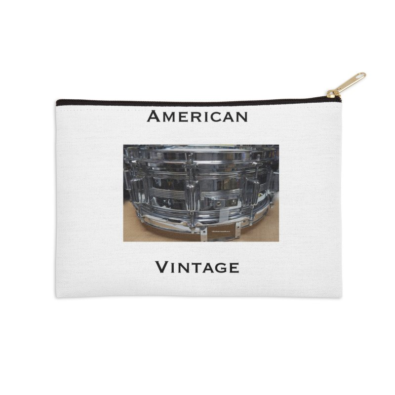 American Vintage Accessories Zip Pouch by EdHartmanMusic Swag Shop!