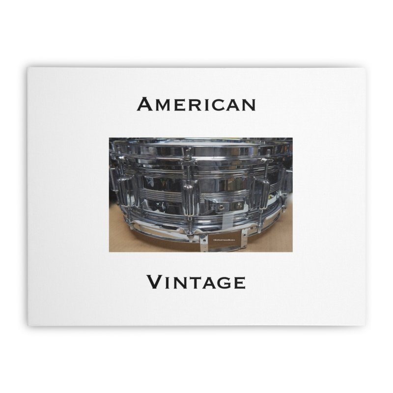 American Vintage Home Stretched Canvas by EdHartmanMusic Swag Shop!