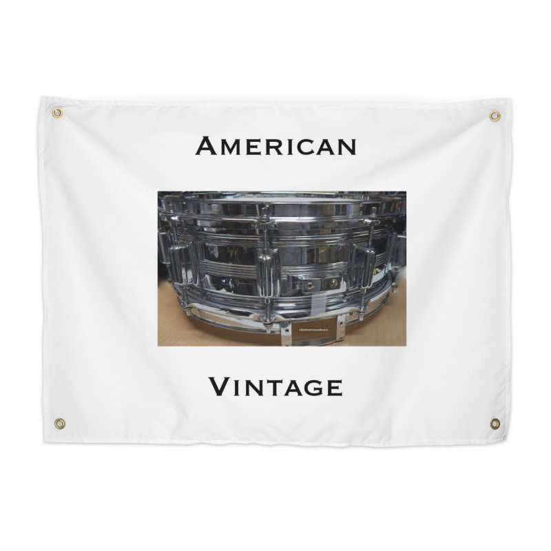 American Vintage Home Tapestry by EdHartmanMusic Swag Shop!