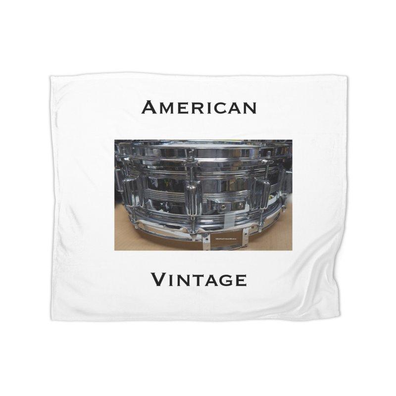 American Vintage Home Blanket by EdHartmanMusic Swag Shop!